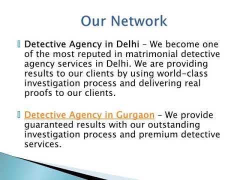 Detective Services in Delhi – Track Eye Detectives
