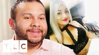 Ricky & His Colombian Girlfriend Only Communicate By Text | 90 Day Fiancé: Before The 90 Days