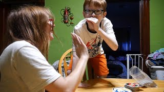Kid Has The Funniest Reaction To Winning An UNO Game Ever 😂