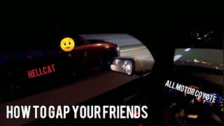 How to drag your friends. Roll Racing Tutorial and Informative Guide