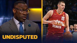 I'm taking Nikola Jokic over Joel Embiid for MVP — Shannon Sharpe | NBA | UNDISPUTED