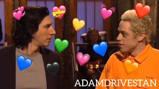 adam driver being annoyed by SNL actors (except pete davidson) SNL VERSION