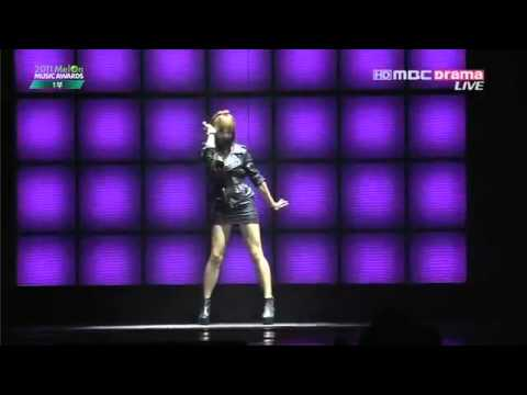 f(x) 에프엑스 - Intro Special Stage & Danger @ Melon Music Awards 2011