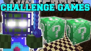 Minecraft: OVERLORD Z CHALLENGE GAMES - Lucky Block Mod - Modded Mini-Game