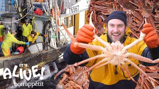 Brad Goes Crabbing In Alaska (Part 1) | It's Alive | Bon Appétit