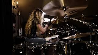"3 Doors Down ""When I'm Gone"" Drum Cover~Brooke C~"