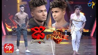 Piyush & Somesh Shoot Out Performance | Dhee Champions |Grand Finale | 9th December 2020| ETV Telugu