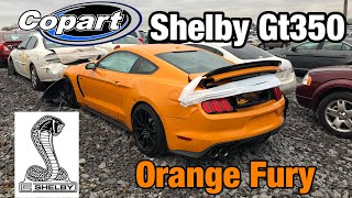 Looking at Burned Semi, Wrecked 2018 Mustang Shelby GT350, Maserati At Copart Salvage Auction