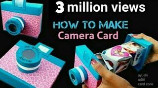 Unique Instax Card Tutorial   DIY scrapbook   Photo Card Tutorial  