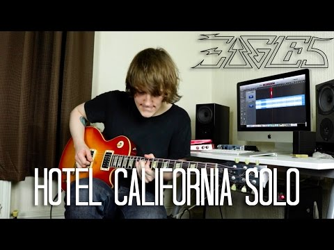 Hotel California Solo - The Eagles Cover (Both Guitars)