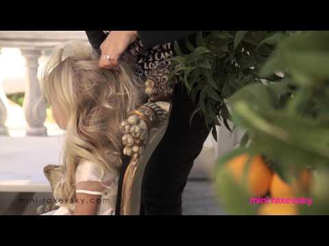 Mini Raxevsky Backstage Photoshoot Spring-Summer 2015