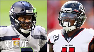 The Seattle Seahawks would be a 'top 3 offense' with Julio Jones - Mina Kimes | NFL Live