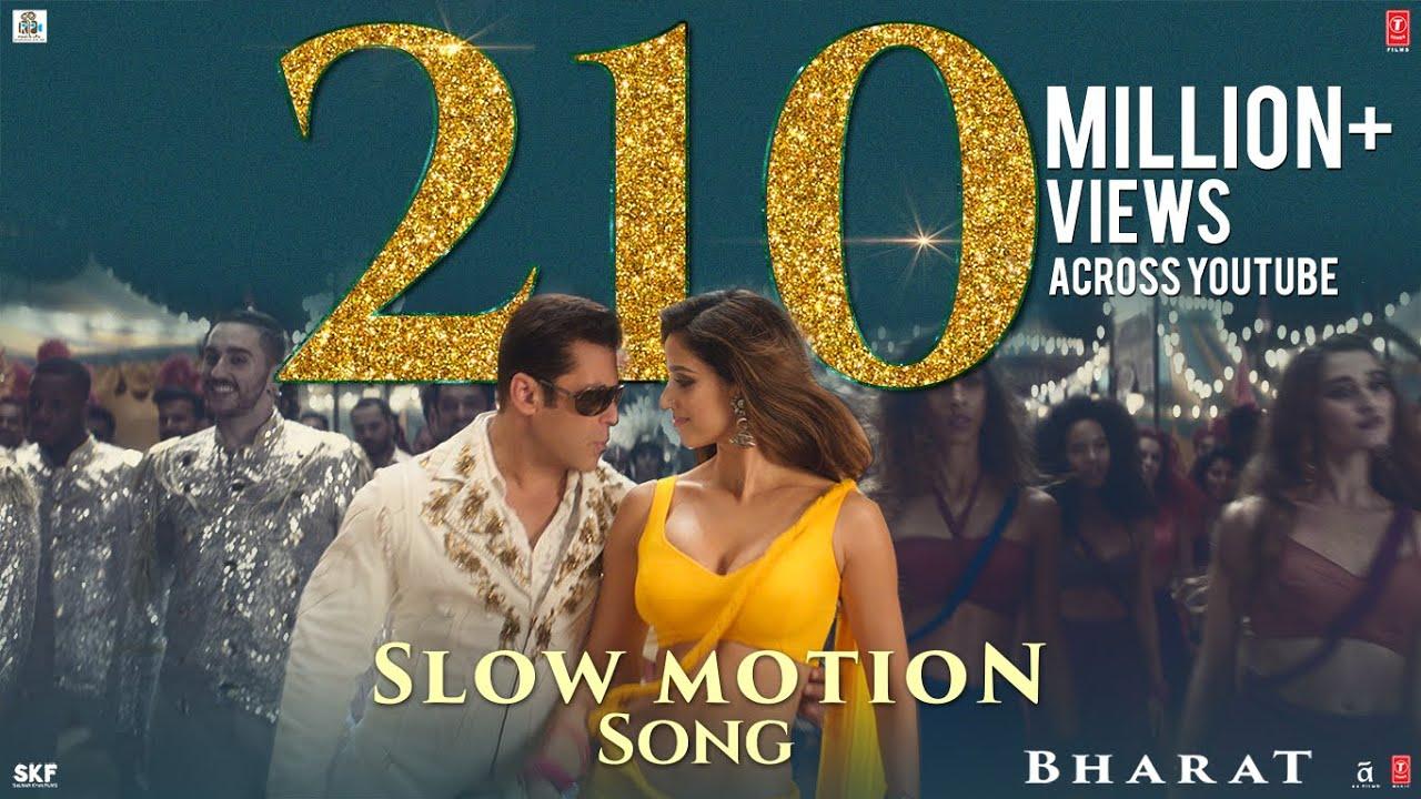 Bharat: Slow Motion Song  Salman Khan, Disha Patani  Vishal & Shekhar Feat. Nakash A , Shreya G