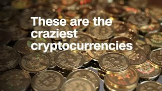 Forget bitcoin, these are the 8 craziest cryptocurrencies