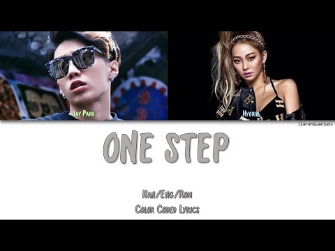 HYOLYN - ONE STEP (FEAT. JAY PARK) [Color Coded Han|Rom|Eng]