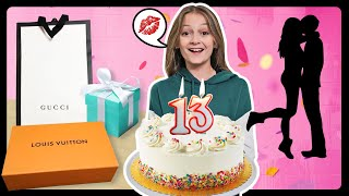 WHAT I GOT FOR MY 13th BIRTHDAY HAUL **FIRST KISS**💋🎂 Sophie Fergi