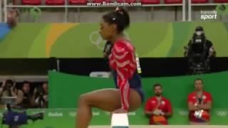 Simone Biles USA Qual BB Olympics Rio 2016