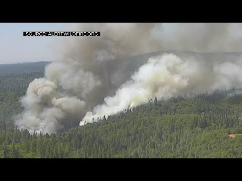 River Fire Near Colfax Grows To 100 Acres As It Forces Residents To Evacuate