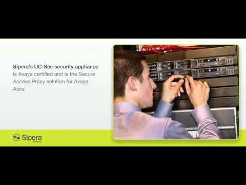 Sipera Secure Access Proxy for Avaya Aura