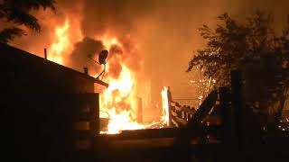 Raw Video: Santa Rosa Fire