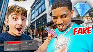 Testing Strangers Diamonds in LA! **exposed**