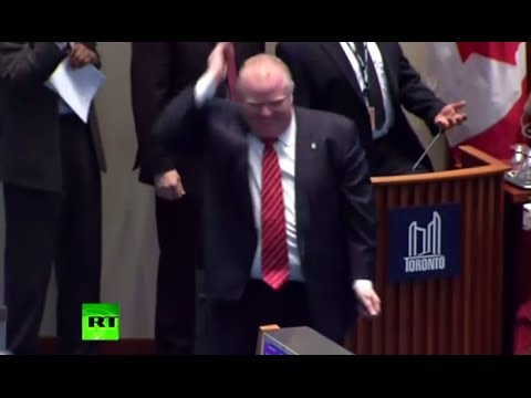 Video: Toronto Mayor Rob Ford Caught Dancing In Council Session - Smashpipe News