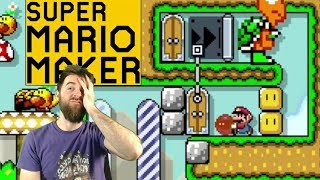 This is WRINKLING MY BRAIN \\ Perplexing Twitter Action! [SUPER MARIO MAKER]