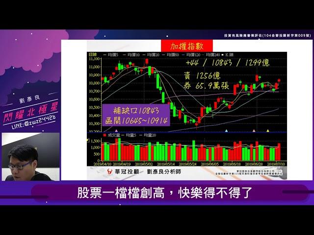 【閃耀北極星】 #劉彥良 0711,股票一檔檔創高,快樂得不得了