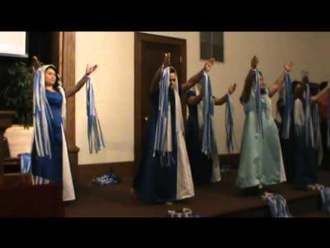 iglesia nueva vida pentecostal video de la danza.mpg
