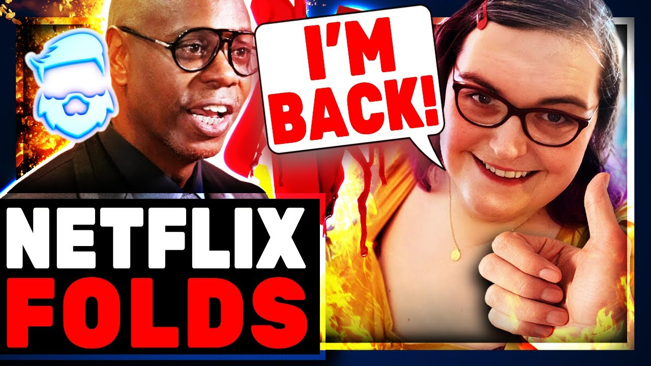 Epic Fail! Netflix Employees WALK OUT Over Dave Chappelle Special & Suspended Employee's Return!