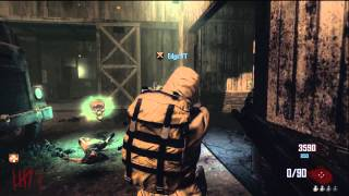 Yami & Edge Black Ops 2 Zombies Farm Gameplay Part 1