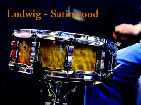 """Ludwig Satinwood snare Limited Edition 14x5"""""""