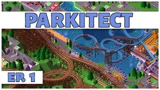 Parkitect - Ep. 1 - Theme Park Tycoon! - Let's Play - [Parkitect Gameplay]