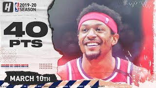 Bradley Beal EPIC 40 Points Full Highlights | Knicks vs Wizards | March 10, 2020