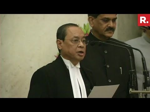 Justice Ranjan Gogoi Takes Oath As The 46th Chief Justice Of India