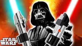 How Darth Vader Built His Lightsaber to Look Like Anakin's! - Star Wars Explained