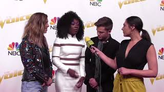 TEAM ALICIA Share What it's Like in the Final 12   The Voice Top 12 Live Shows Red Carpet