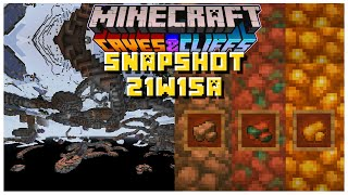 Minecrafts New Caves Have Been REMOVED | Minecraft 1.17 Caves & Cliffs Update (21w15a)