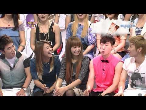 100710 Luna Eunhyuk Victoria Eye Gag