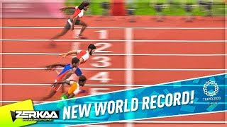 MY FIRST WORLD RECORD IN TOKYO 2020! (Tokyo 2020 Olympic Games #2)