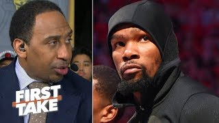 KD was 'hell-bent' on proving he has heart, but wasn't ready for Game 5 – Stephen A. | First Take