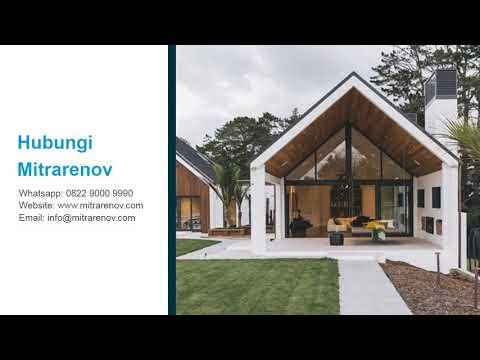 WA 0822 9000 9990, TERMURAH, Jasa desain rumah Minimalis Jakarta