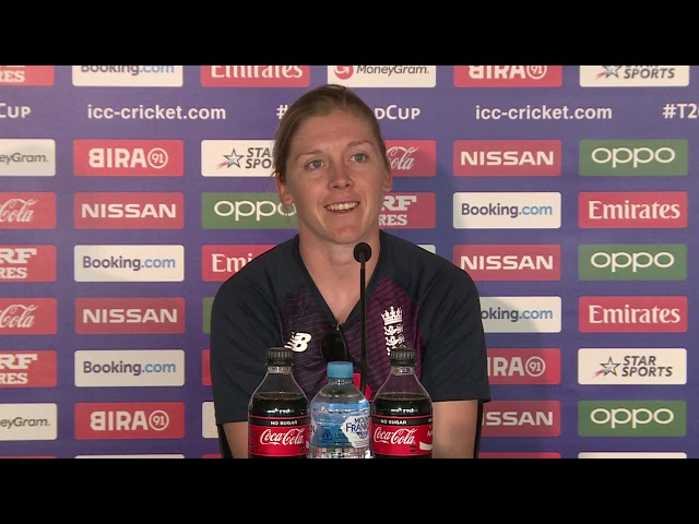 Heather Knight Speaks Ahead of England v South Africa