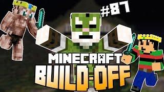 Minecraft Build Off #87 - KINGDOM ENTROPIA VS MALINO!