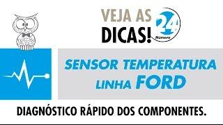 DICA MTE 24 – Sensor de Temperatura Linha Ford