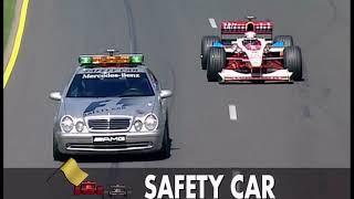 [50fps] Australian GP 1999:- Villeneuve crashes, McLaren falters & Restart Chaos