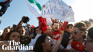 Mexicans protest against migrant caravan: 'We don't want you here'
