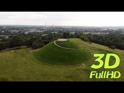 [3D] Krakus Mound / Kopiec Krakusa, Krakow / Kraków, Poland / Polska