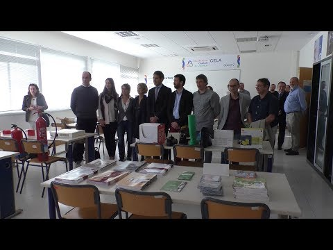 Segurtasun gela inauguratu dute Goierri Eskolan