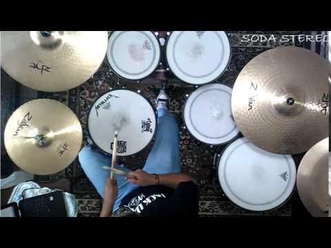DE MUSICA LIGERA-Soda stereo-drum cover